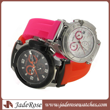 High Quality Quartz Alloy Watch Silicone Band with Different Size