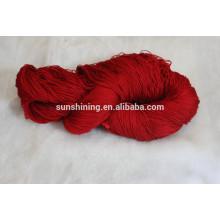 ventas de hilo de bambú mezclado para la alfombra con precio de fábrica