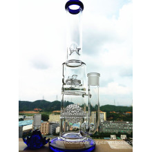 Hbking K48 18inch 60 Diameter 5thickness Adustable Honeycomb Weed Wheel Birdcage Shower Tobacco Glass Smoking Water Pipe