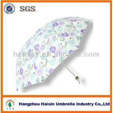 3 plegable moda impresión personalizados paraguas para la venta