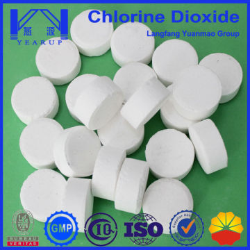 water treatment chemicals of Stabilized chlorine dioxide