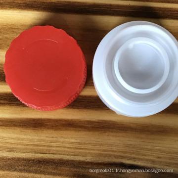 2017 chine OEM de haute qualité comestible huile capuchon moule pour produits de moulage d'injection capuchon d'huile comestible en plastique