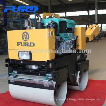 Caminhão do motor a diesel resfriado a água atrás do compactador de solo com tambor duplo (FYL-800CS)