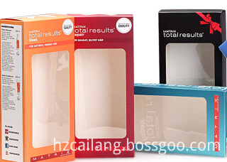 Cailang Printing Tuck Top Box with Clear Window