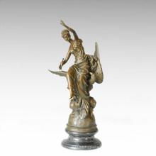 Statue de la mythologie Statue de l'aigle sculpture en bronze TPE-232