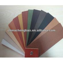 Persianas de madera multicolor con alta calidad