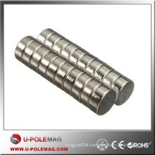 High Performance Disc Magnet/Neodymium Magnet Disc N45/D12x6mm Neodymium Magnet Disc N45 Supplier