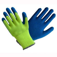 10t Fluorescence Latex Coated Gloves