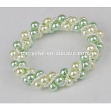 Pérolas de vidro por atacado para braceletes