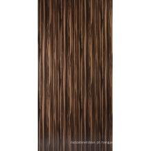 Placa de MDF de grão de madeira UV de alto brilho de 2015 (ZH-3960)