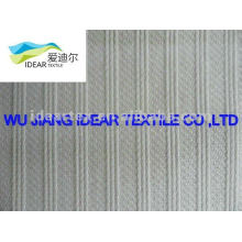 polyester cotton/ TC strip jacquard Fabric for Taekwondo