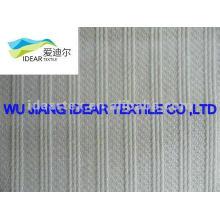 полиэстер хлопок / TC полосы ткани жаккард для тхэквондо