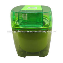 Ice Cream Maker with 1.5L Capacity and LED Display and Timer Control