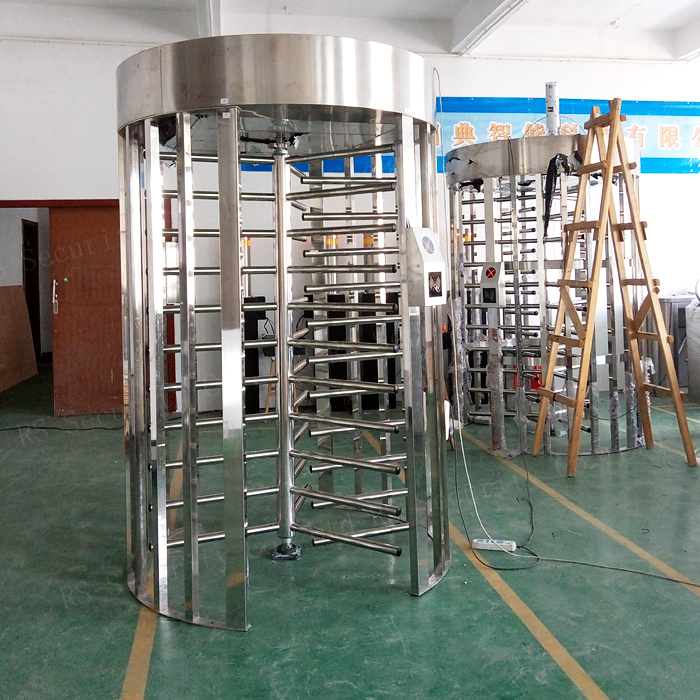 Stainless Steel Full Height Turnstiles Door