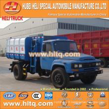 Vente chaude à bas prix 8m3 NOUVEAU dongfeng 4x2 autocharge camion à ordures diesel