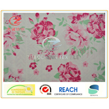240t Poly Pongee Peony Style Printing Fabric for Garment Use (ZCGP060)