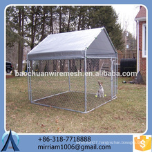 2016 New design durable and anti-rust dog kennel/pet house/dog cage/run/carrier