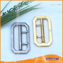 Tamaño interior 51mm Metal Hebillas para zapatos, bolsa o cinturón KR5134