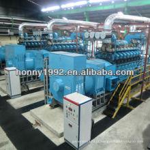 1MW-500MW Gerador Diesel / HFO / Central de Gás