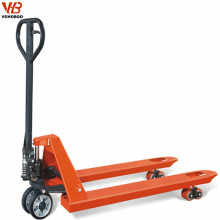 manual actuation 2 ton hand pallet jack