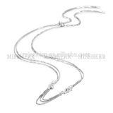 Latest design sterling silver necklace chain