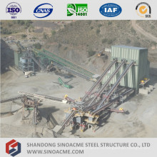 High+Rise+Prefab+Steel+Frame+Conveyor+System