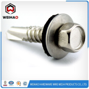 HEX HEAD YOURF DRILLING SCREW INSERTED WASHER