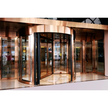 Two Wing Revolving Doors with Powerful Automatic Operators