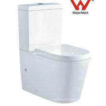 Watermark Sanitary Ware Toilette lavabo en céramique à deux pièces (563)