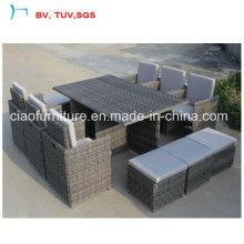 Сохранить цену Перевозкы груза ротанга сад диван с Оттоманкой (CF659-Т-1)