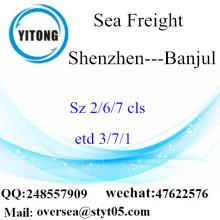 Shenzhen Port LCL konsolidering till Banjul