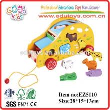 2015 Mode Modellierung Holz Baby Kinderwagen Baby Puppe Kinderwagen Spielzeug Tiere Spielzeug Spielzeug