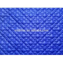 Tissu de vêtements d'hiver, brodé tissu pour le quilting, matelassé tissu tissu manteau/veste/vêtement