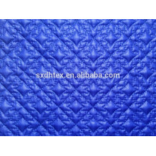 Tecido de roupas de inverno, bordado tecido para quilting, acolchoado de tecido para tecido casaco/jaqueta/vestuário