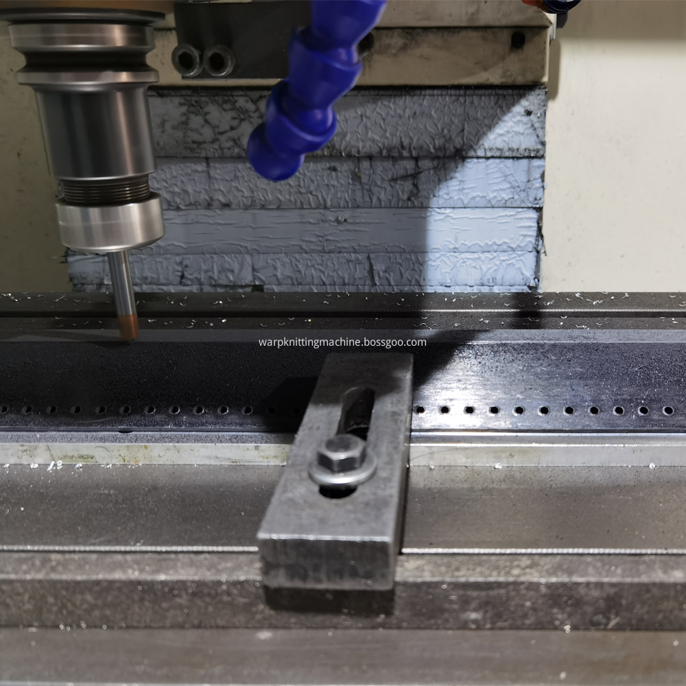 Microfiber Needle Bar Under Production