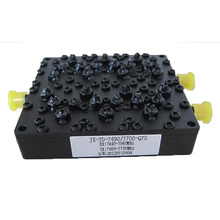RF Cavity Duplexer finition de surface noir