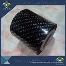 Black Hot Stamping Foil for Car Plate