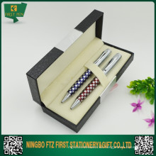 Juegos de bolígrafos grabados con caja de regalo