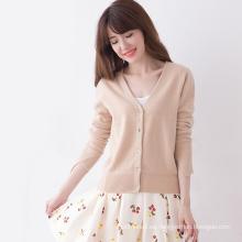 al por mayor en stock suéter marrón rebeca mujeres en venta
