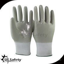 SRSAFETY Anti-oil full nitrile coated glove/work glove/safety glove