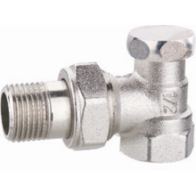 Brass Stop Valve Backwater Valve with Nickel Plating