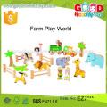 23 шт. Комплект для детского животного деревянная ферма paly world китайский импорт оптом