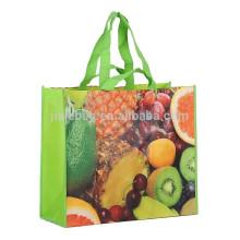 La venta caliente 100% recicla el bolso no tejido laminado de la estera RPET