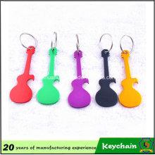 Small Guitar Opener Keychain