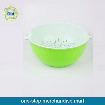 plastic rice washing basket