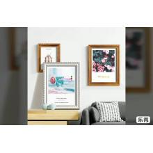 Moldagem de plástico emoldurado tamanho grande photo picture poster frames 24x36