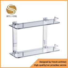 High Quality Stainless Steel Glass Shampoo Rack (AOM-8213)