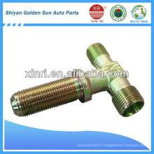 Raccords de tuyauterie en métal