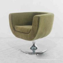 Metall Stoff Sofa Stuhl für zu Hause