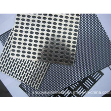 Алюминий Пефорировал металл удар стальной лист для фильтра